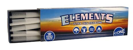 ELEMENTS Cone Kingsize 40stk!