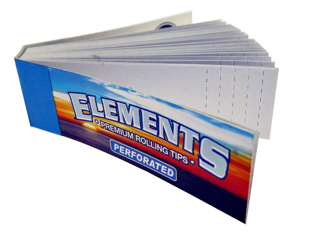 Elements Filtertips Perforated