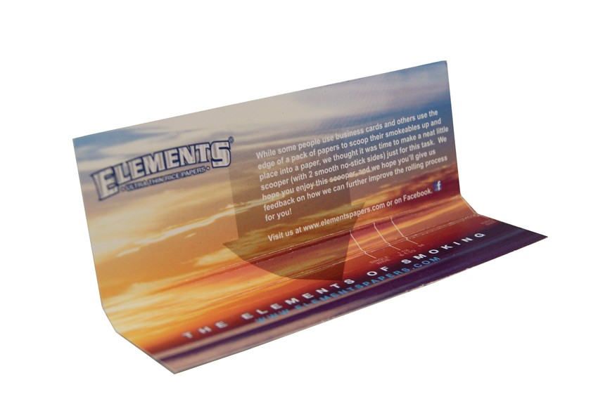 Elements Scoop Card