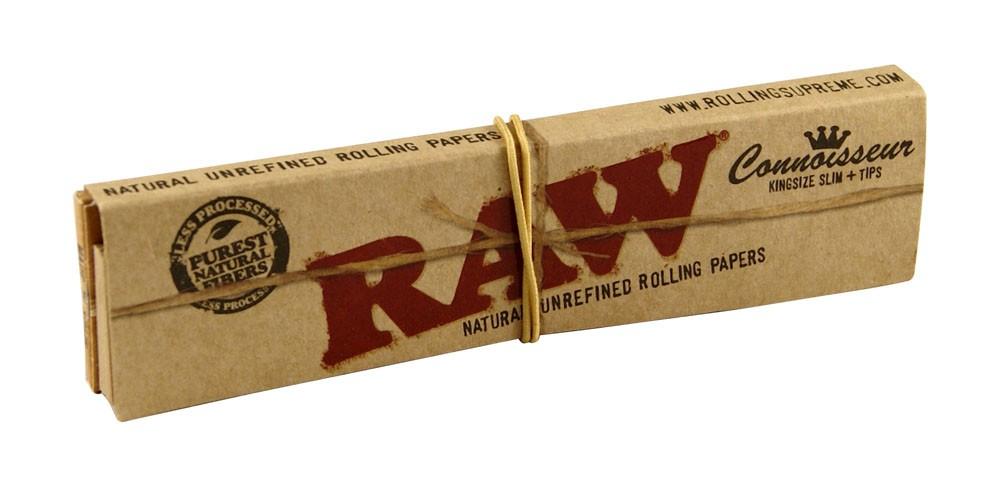 RAW Kingsize Slim m/Filtertips